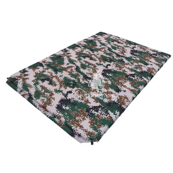 Digital camouflage double self inflatable cushion H82
