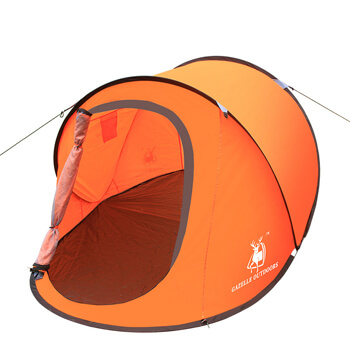 Colorful 3 person throwing open automatic tent H09