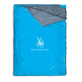King size zip together sleeping bag H57
