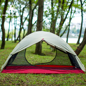 15D silicone fabric double layer ultralight tent H29