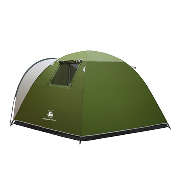One Bedroom Double Layer Waterproof Family Picnic Tent H30