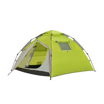 3-4 person double layer waterproof family camping automatic tent H5
